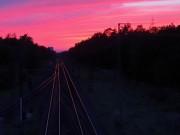 Sonnenuntergang in Weiterstadt
